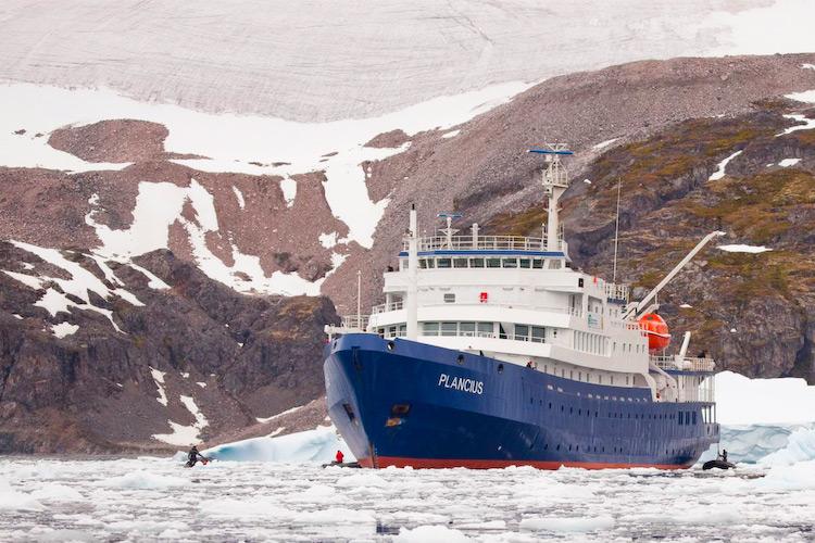 M/V Plancius © Oceanwide Expeditions