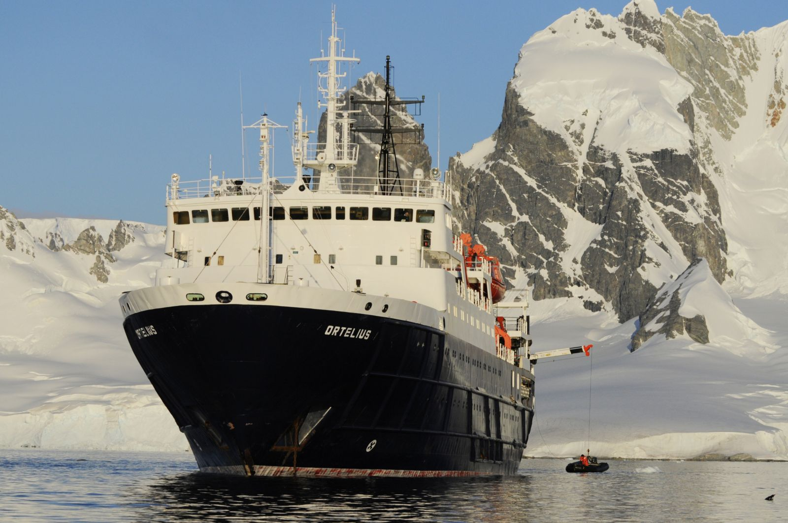 M/V Ortelius © Oceanwide Expeditions