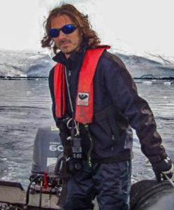Rodrigo exploró la remota Península Antártica durante 8 años consecutivos.