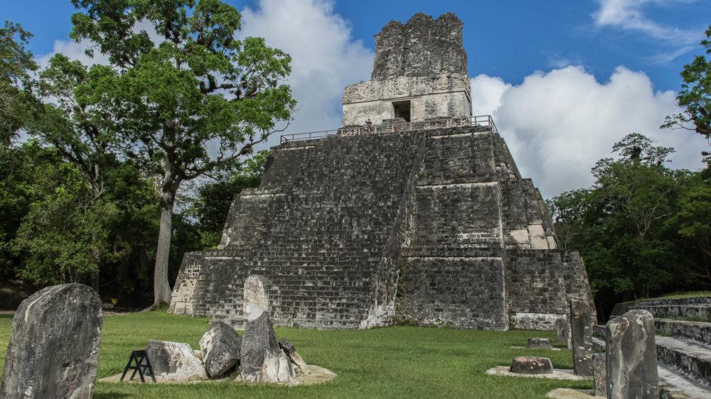 Los imponentes templos de la ciudadela de Tikal, PN Tikal, Petén, Guatemala©Claudio F. Vidal, Far South Exp